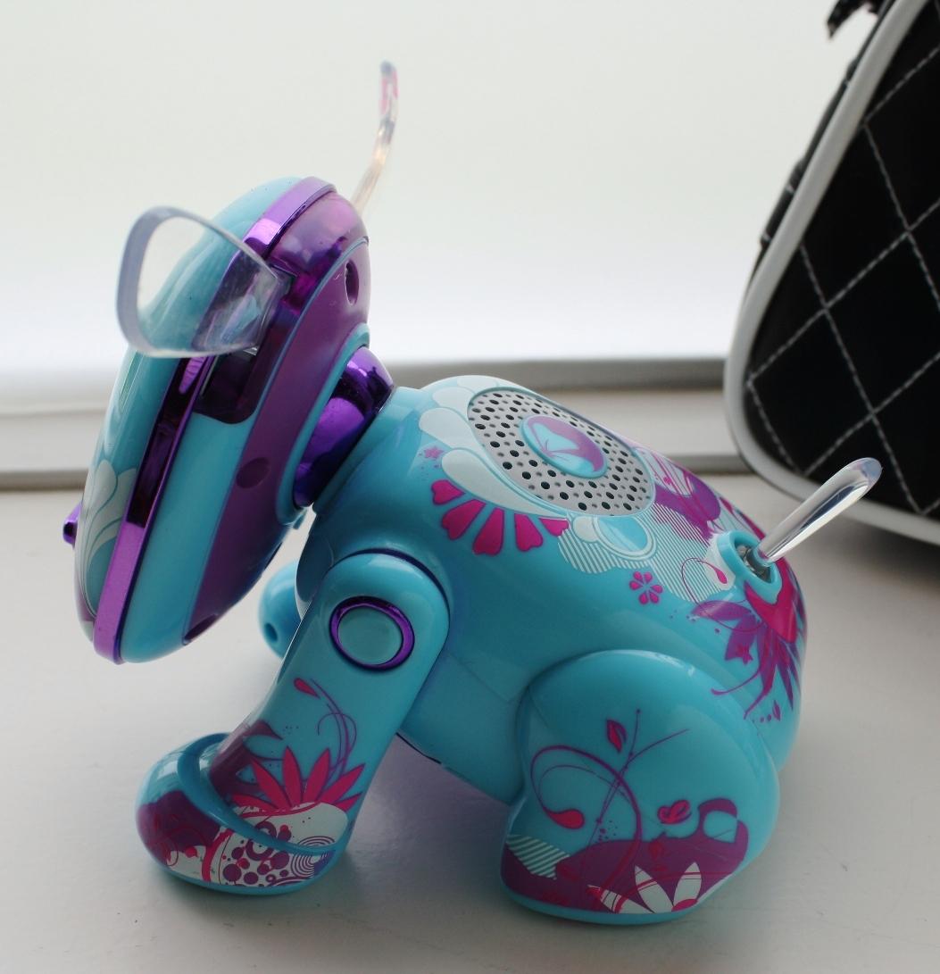 i-Dog Amp'd Interactive Robotic Pet - Music Speakers
