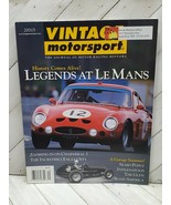VINTAGE MOTORSPORT legends at le mans sept/oct 2001 MAGAZINE (d) - $15.00