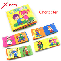 XC1355 Baby's First Book cloth baby book Mini Learning mat Early  Edutional - $6.99