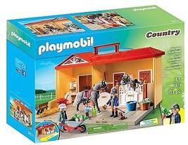 Playmobil 5671 Take Along Horse Stable Playset  - $66.21