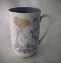 Precious Moments Mug Personalized STEPHANIE Girl 1993 Cup Enesco Tea Gift Name - $19.78