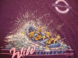 Vintage Wild Waters New River Runners Tourist Souvenir Vacation T Shirt L - $19.79
