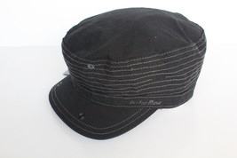 "G-Star Raw ""CARO"" Slub Canvas Cap Hat Black $65 BNWT 100% Authentic UNI - $39.11"