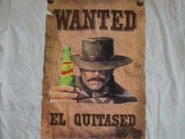 "Squirt Soda ""Wanted El Quitased"" Outlaw White T Shirt Men's Size S - $15.83"