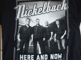 Nickelback Metal Rock Concert Tour 2012 Black T Shirt Adult Size M - $16.82