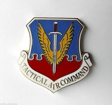 US AIR FORCE USAF TACTICAL AIR COMMAND LARGE LOGO LAPEL PIN 1 inch - $4.46