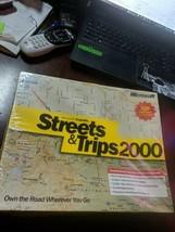 Microsoft Expedia Streets & Trips 2000 (Microsoft) Maps Travel Software ... - $19.20