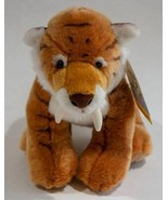 """BUILD A BEAR NWT RETIRED 15"""" SABERTOOTH TIGER SABER TOOTHED PLUSH STUFFE... - $25.24"""