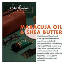 Shea Moisture Maracuja oil & shea butter beard wash, 6 Fluid Ounce image 4