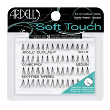 Ardell Soft Touch Knot Free Tapered Lashes Combo Pack Short, Med, Long - $9.49