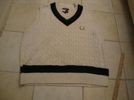 Vintage 90's TOMMY HILFIGER Sweater Vest Men's Size L - $29.69