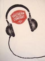 Southern Comfort New Orleans Original White Music Headphones T Shirt L - $14.84