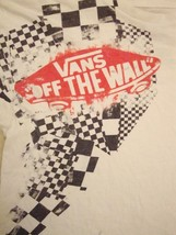 Vans: Off The Wall Skate Apparel Skateboards Skateboarding White T Shirt M - $14.84