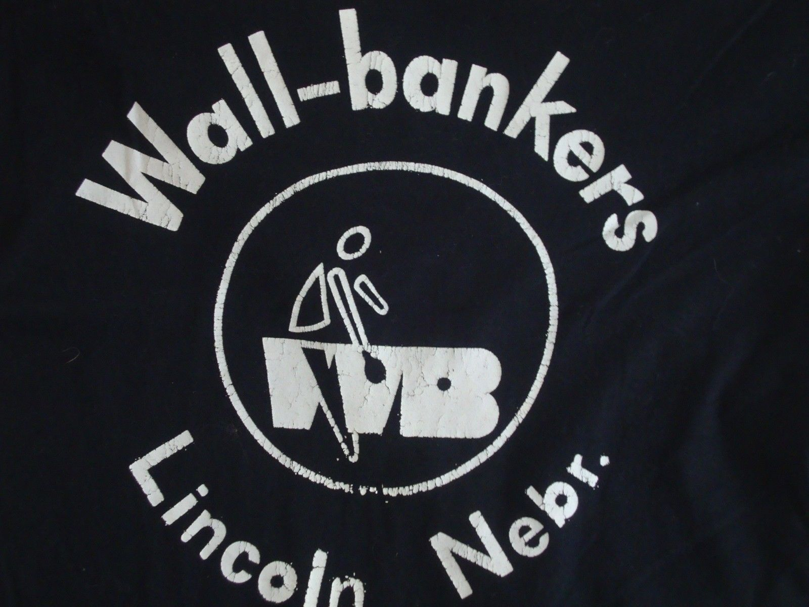 Primary image for Vintage Wall Bankers Lincoln Nebraska vacation Tourist T Shirt M