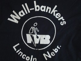 Vintage Wall Bankers Lincoln Nebraska vacation Tourist T Shirt M - $17.81