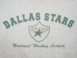 NHL Dallas Stars Ice Hockey Fan Apparel Gray T Shirt L - €13,19 EUR