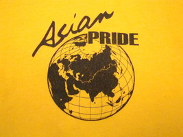 Vintage Asian Pride Asia Studies International College University T Shirt S - $17.81