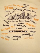 Pittsburgh Pennsylvania Downtown Souvenir Accents Words Definition T Shi... - $14.84