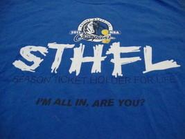 NBA Dallas Mavericks National Basketball Fan 2011 Champions Blue T Shirt XL - $16.82