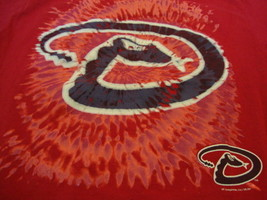 MLB Arizona Diamondbacks Major League Baseball Fan Apparel Red Youth T Shirt XL - $15.53