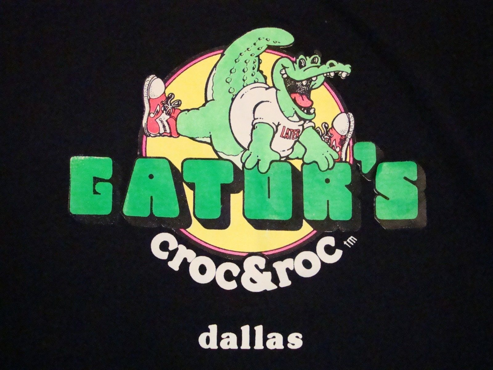 Primary image for Vintage Gator's Croc & Froc Dallas Texas T Shirt XL