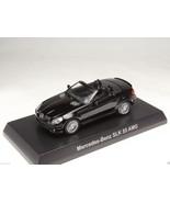 KYOSHO DIECAST CAR MERCEDES BENZ AMG SLK 55 AMG BLACK 1/64 JAPAN - $9.99
