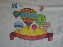 Vintage High Hopes Foundation Balloon Festival 1994 T Shirt L - $17.81