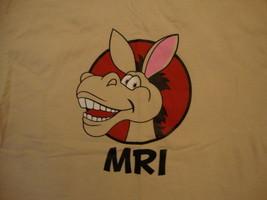 """MRI """"I Got the Unleashed Spirit Wear"""" Donkey Tan T Shirt L - $16.52"""