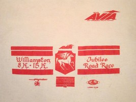 Vintage Jubilee Road Race Williamston Michigan Avia Thin T Shirt M - $19.79