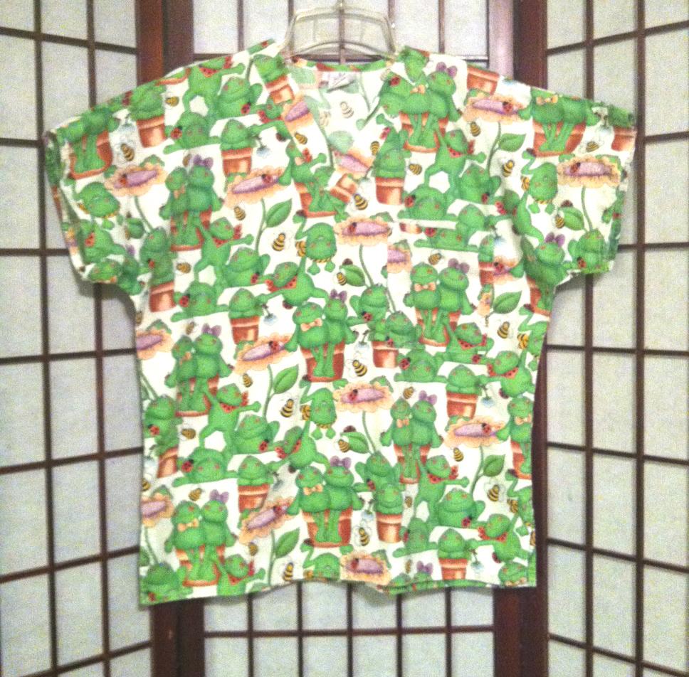 bde2edf96be Zebra Print Scrub Shirt - DREAMWORKS