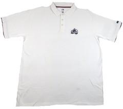 Colorado Avalanche Polo Shirt Men's Cotton Pique NHL Hockey Big & Tall