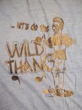 "Vintage ""Lets Do the Wild Thang"" Rap Hip Hop Dance Iron On T Shirt L - $27.71"
