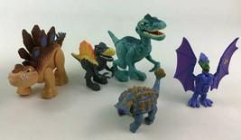 Jurassic World Dinosaur Figure Stegosaurus Anklyosuarus 5pc Lot Playskool Heroes - $29.65