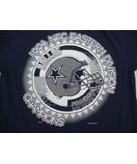 Vintage Dallas Cowboys NFC East Champions Football 1994 90's Blue T Shirt M - $17.81