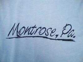 Vintage Montrose Pennsylvania Tourist Soft T Shirt S - $16.92