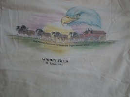 Vintage American Grants farm St. Louis, Mo. T Shirt L - $16.82
