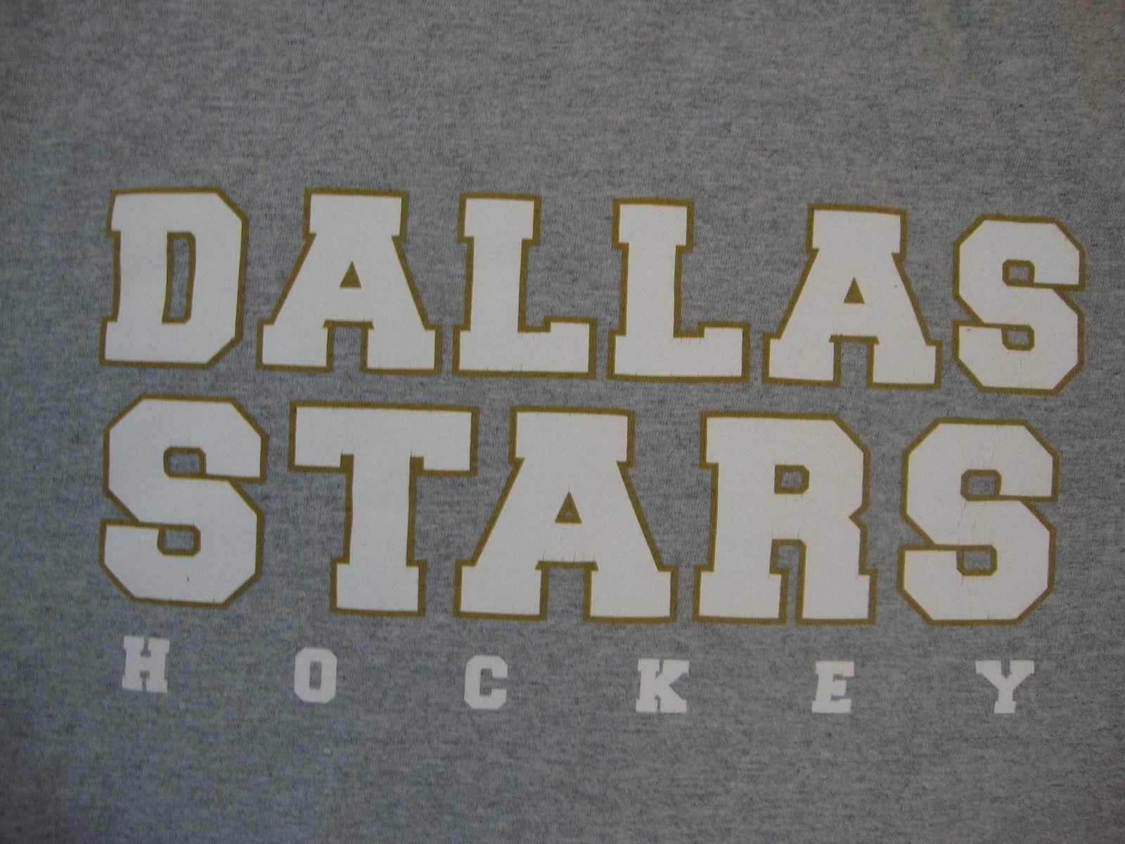 NHL Dallas Stars National Hockey League Sport Fan Gray T Shirt XL