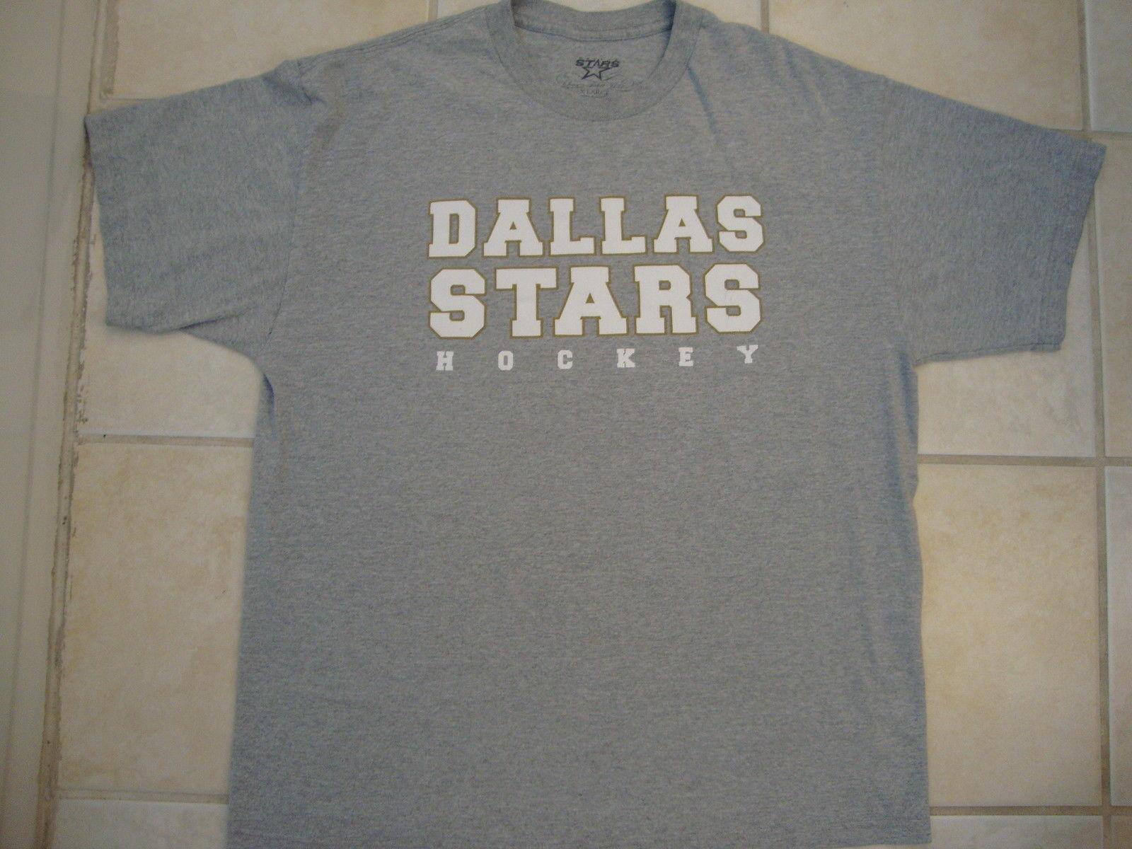 NHL Dallas Stars National Hockey League Sport Fan Gray T Shirt XL image 2