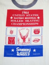 Vintage 1984 United States Roller Skating Championship USA RS 80's T Shi... - $39.59