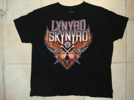 Lynyrd Skynyrd Southern Blues Hard Rock Band Fan Black T Shirt XL - $14.38