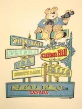 Vintage Niagara Falls Canada  Waterfall Tourist Soft T Shirt M - $24.74