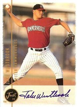 1999 jake westbrook autograph cardinals rookie baseball card just minors - $9.99