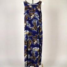Hilo Hattie Hawaiian Sleeveless Aloha Dress size 10 Ukulele Leis Islands... - $20.56