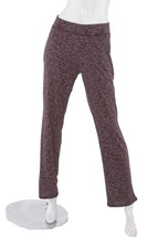 Victoria's Secret Ribbed Pajama Lounge Pants Heather Burgundy Size M NWT - $24.74