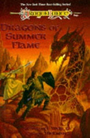 Primary image for Dragons Of Summer Flame (Dragonlance Saga Chronicles) Margaret Weis; Tracy Hickm