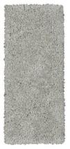 Ottomanson Flokati Collection Faux Sheepskin Shag Runner Rug, 2'X5', Grey - $35.17