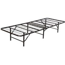 Heavy Duty Portable Folding Guest Twin Size Bed Frame Metal Cot Rollaway... - $155.51