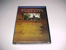 Sunnylands Seminars Key Constitutional Concepts DVD PJ Productions New - $24.74