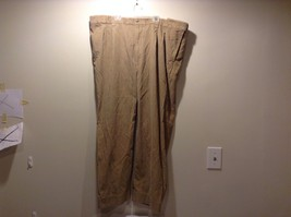 Women's Used Great Condition Oak Hill Striped Khaki 44130 Cotton Pants