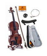 New WOODEN Student Violin VN101 3/4 Size w Case Bow Rosin String *GREAT ... - $51.06